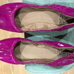 LuckyBrand Blue Jeans America Ballet Style Slipper
